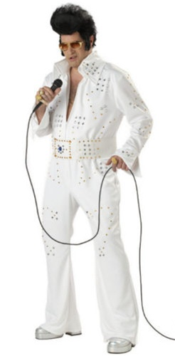 Big and Tall Rock Legend Costume - Elvis