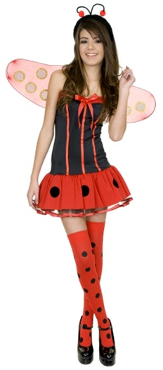 sc 1 st  SpookShop & Teen Lady Bug Costume