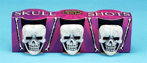 Skull Shot Glasses Set of 3