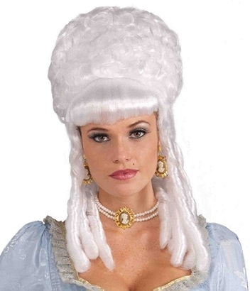 Historical Costume Wigs for parties, plays, and Halloween
