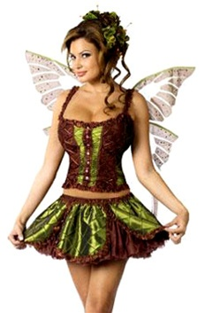 Sexy Woodland Fairy Costume  sc 1 st  SpookShop & Sexy Enchanting Fairy Costume
