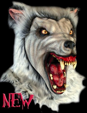 Adult Snow Wolf Mask