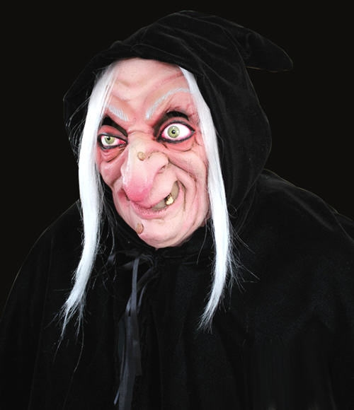 Snow White Hag Hooded Witch Mask From Ghoulish Productions