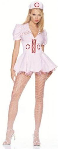 Sexy Candy Striper Nurse Costume