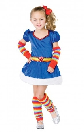 sc 1 st  SpookShop & Girlu0027s Rainbow Cutie 80u0027s Child Costume