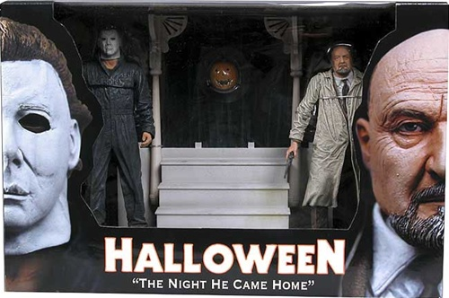 Includes Dr. Loomis with moveable gun-arm, Michael Myers with moveable ...