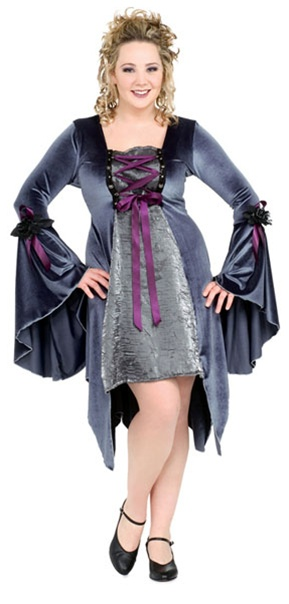 Plus Size Grey Garden Costume