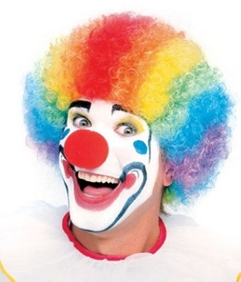 Clown Costume Wigs for Halloween