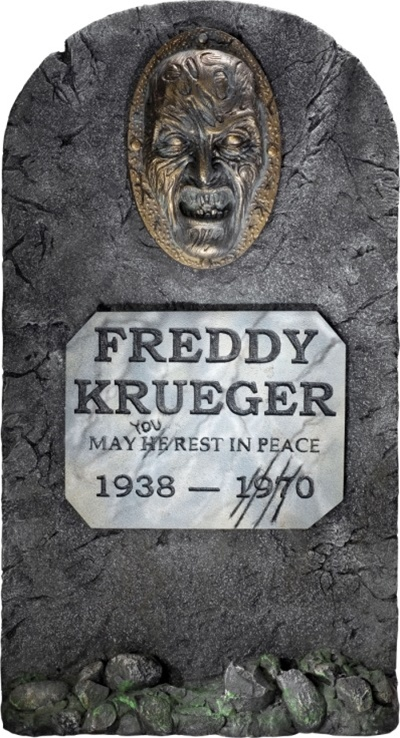 Freddy Krueger Tombstone