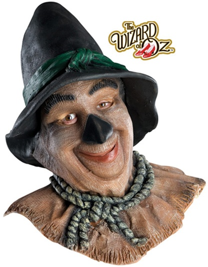 Wizard of Oz Deluxe Scarecrow Latex Mask