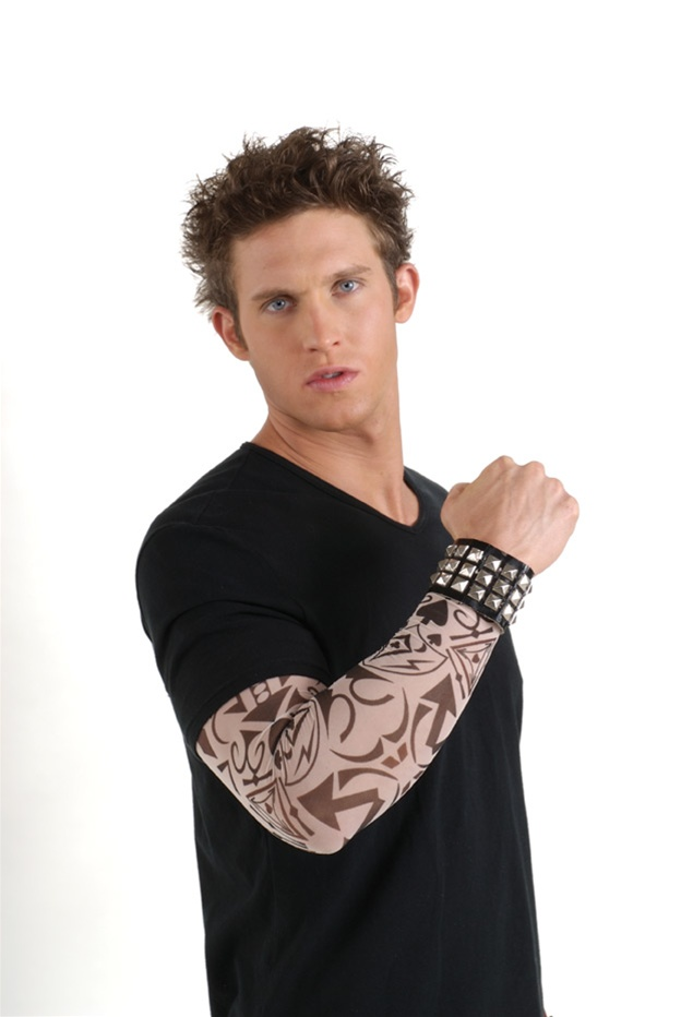 Tribal Tattoo Half Sleeve - Tribal Charms. Tattoo sleeves featuring card