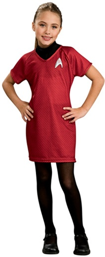 Star Trek Child Deluxe Red Dress Costume - Uhura