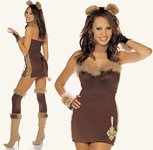 Sexy Not-So Cowardly Lion Costume