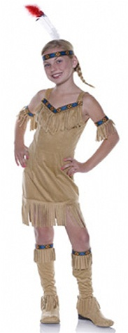 Child Native Princess Costume